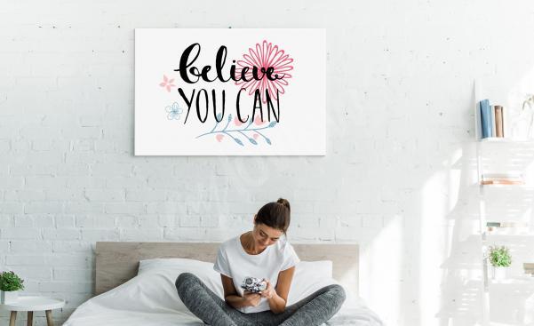 Obraz motivace do ložnice