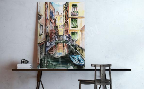 Obraz na plátně město Benátky