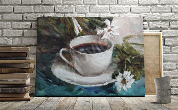 obraz na zed' káva