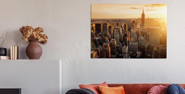 Obraz panorama metropole