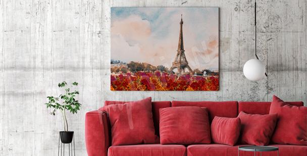 Obraz Paříž do obývacího pokoje