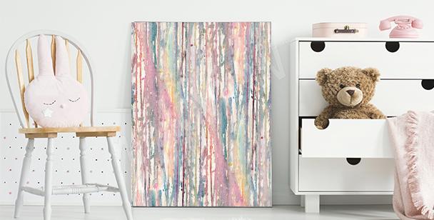 Obraz pastelový akvarel