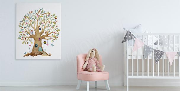 Obraz pohádkový strom