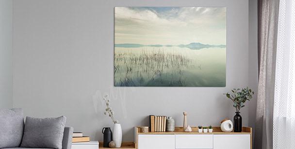 Obraz pohled na jezero Balaton