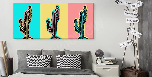 Obraz pop art do obývacího pokoje