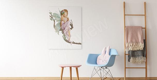 Obraz pro holčičky: rusalka