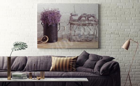 Obraz rustikální styl