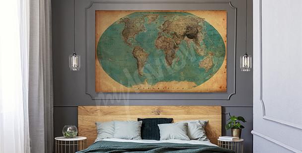 Obraz s geografickým motivem