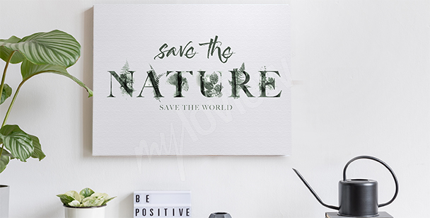 Obraz s motivem přírody