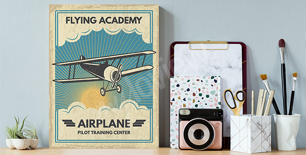 Obraz s podobiznou letadla