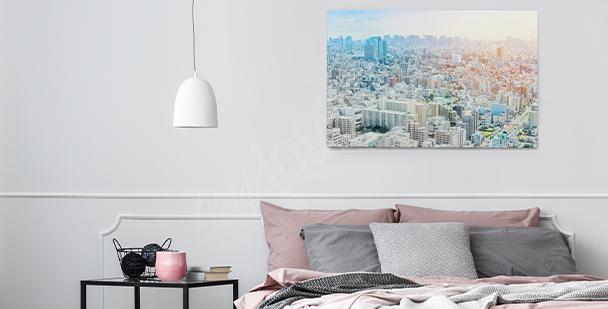 Obraz s pohledem na panorama města