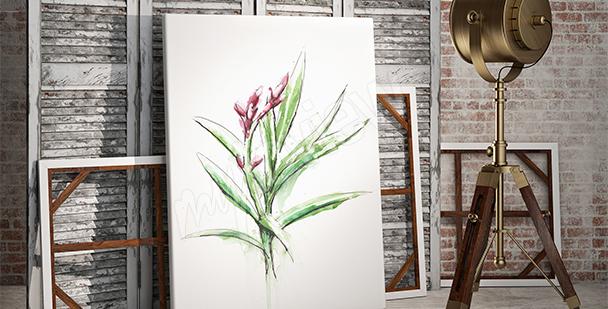 Obraz s rostlinou