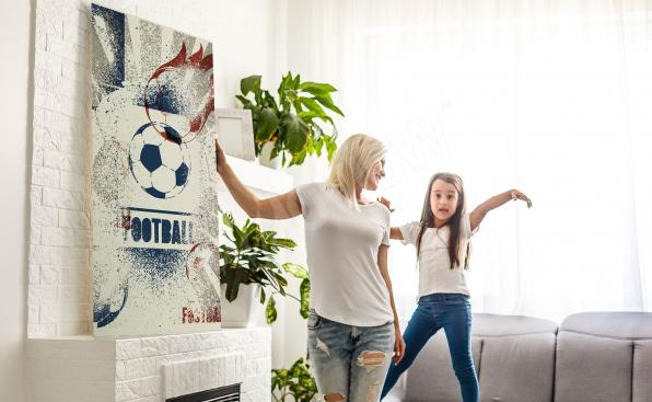 Obraz sport do obývacího pokoje