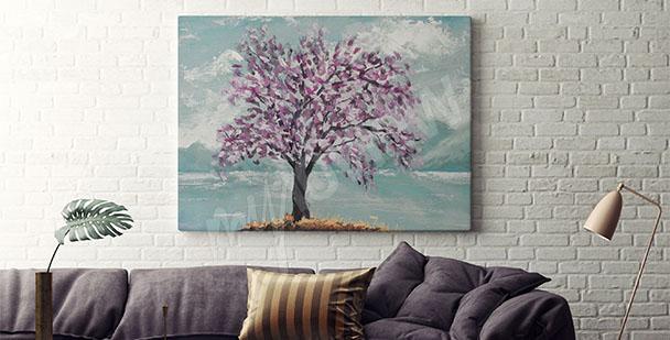 Obraz strom do obývacího pokoje