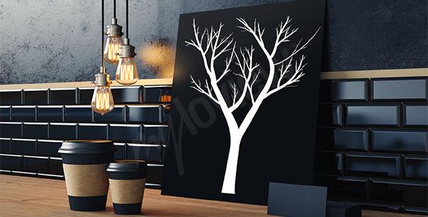 Obraz strom - minimalismus