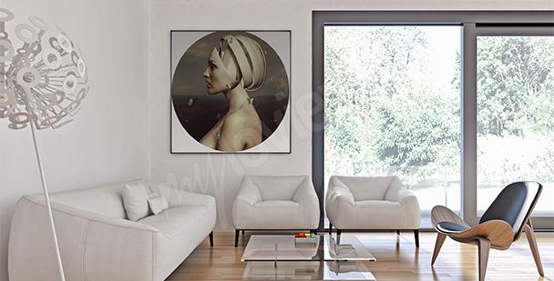 Obraz surrealismus žena
