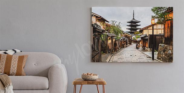 Obraz Tokio a městská ulička