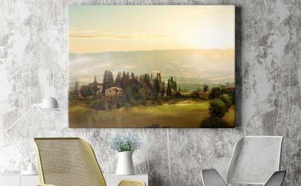 Obraz Toskánsko - malebná krajina