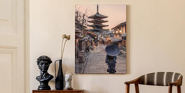 Obraz ulice Kjóta