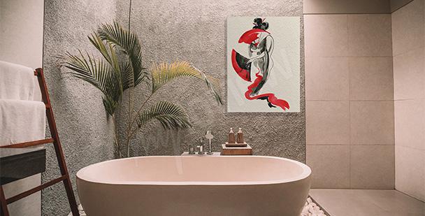 Obraz v japonském stylu
