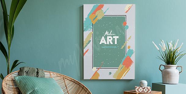 Obraz ve stylu modern art