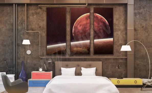 Obraz vesmír do ložnice
