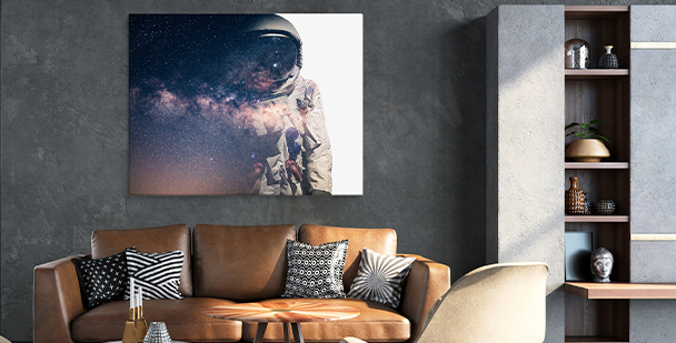 Obraz vesmír do obývacího pokoje