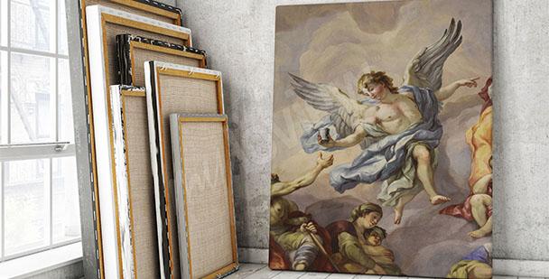 Obraz vídeňská freska