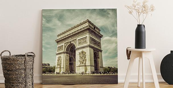 Obraz Vítězný oblouk v Paříži