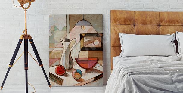 Obraz zátiší malířství
