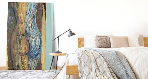 Obrazy akty: odvážná dekorace interiéru
