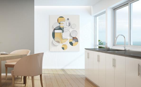 Obrazy do kuchyně abstrakce