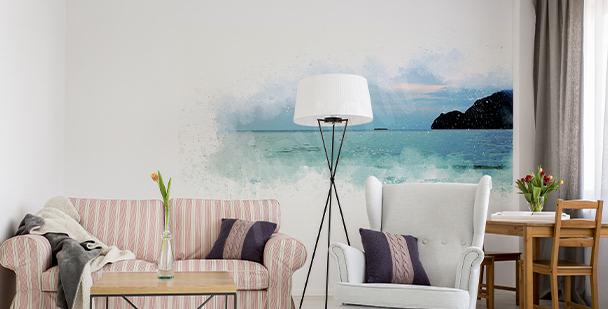 Panoramatická nálepka moře