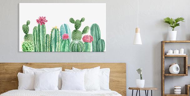 Pastelový obraz floral style
