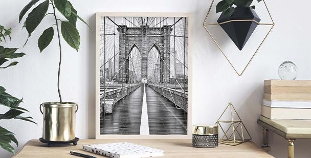 Plakát Brooklyn Bridge