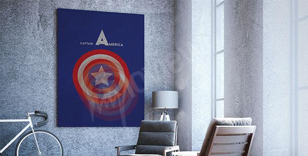Plakát Captain America