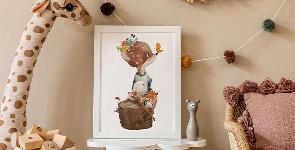 Plakát dětská ilustrace
