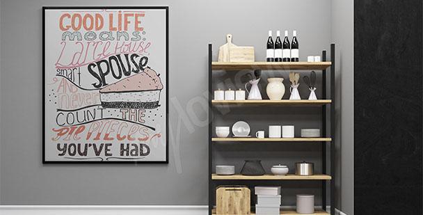 Plakát do kuchyně sladkosti