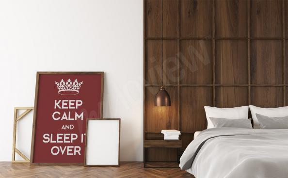 Plakát do ložnice s citátem