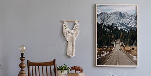 Plakát hory v Coloradu