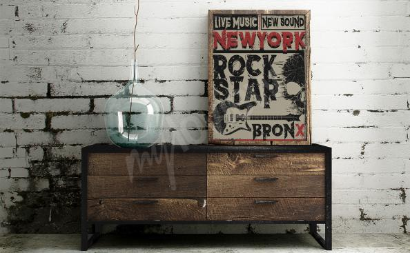plakát hudba v New York