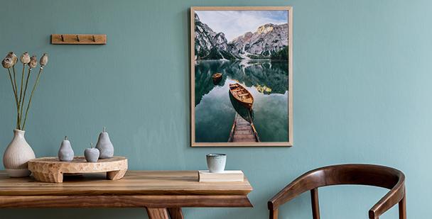 Plakát Lago di Braies