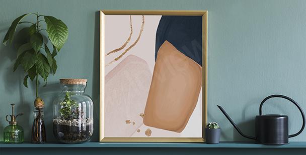 Plakát minimalistický styl