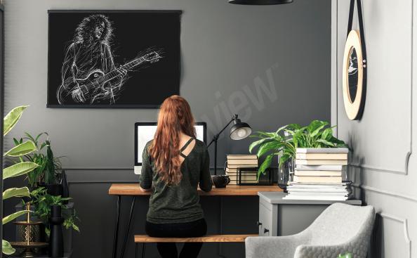 Plakát muzikant Brian May
