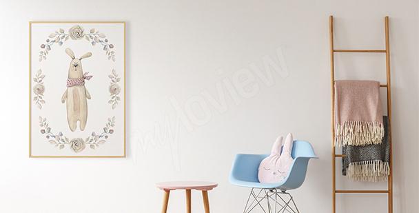 Plakát plyšový králík
