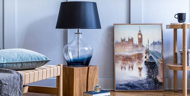 Plakát pohled na Big Ben
