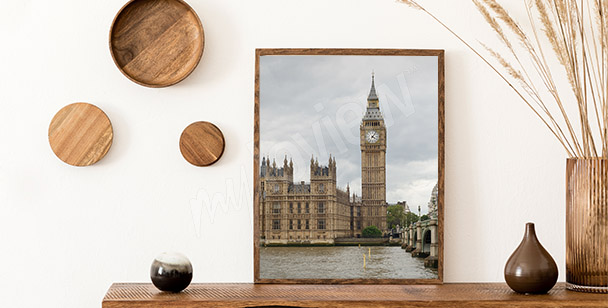 Plakát pohled na parlament