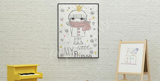Plakát pro holčičky