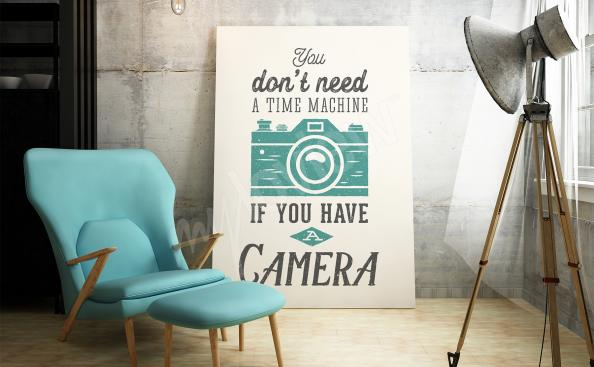 Plakát s nápisy