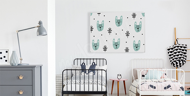 Plakát skandinávský styl pro děti